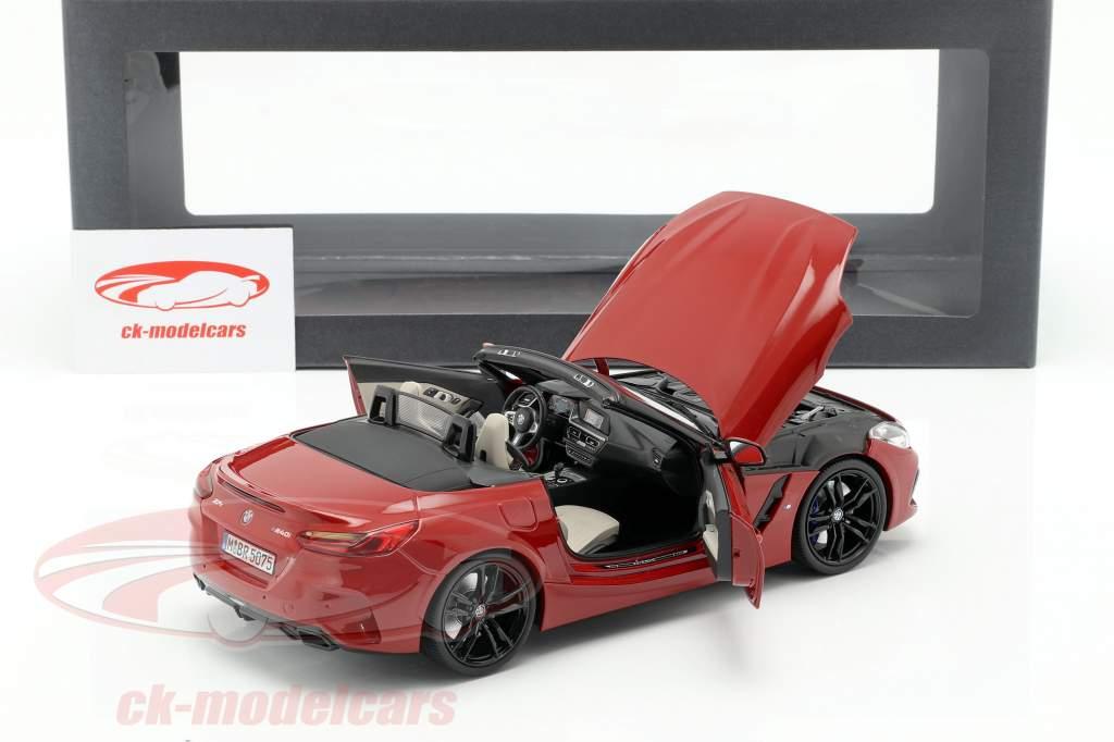 BMW Z4 (G29) anno di costruzione 2019 San Francisco rosso 1:18 Norev