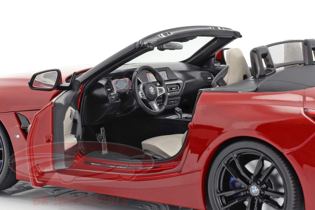 BMW Z4 (G29) année de construction 2019 San Francisco rouge 1:18 Norev