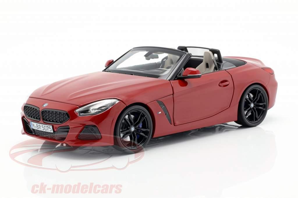 BMW Z4 (G29) ano de construção 2019 San Francisco vermelho 1:18 Norev