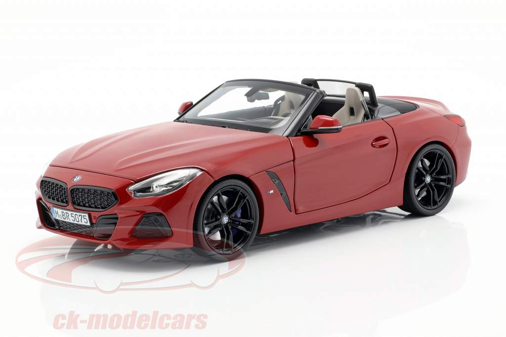 BMW Z4 (G29) Opførselsår 2019 San Francisco rød 1:18 Norev