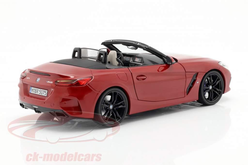 BMW Z4 (G29) Bouwjaar 2019 San Francisco rood 1:18 Norev
