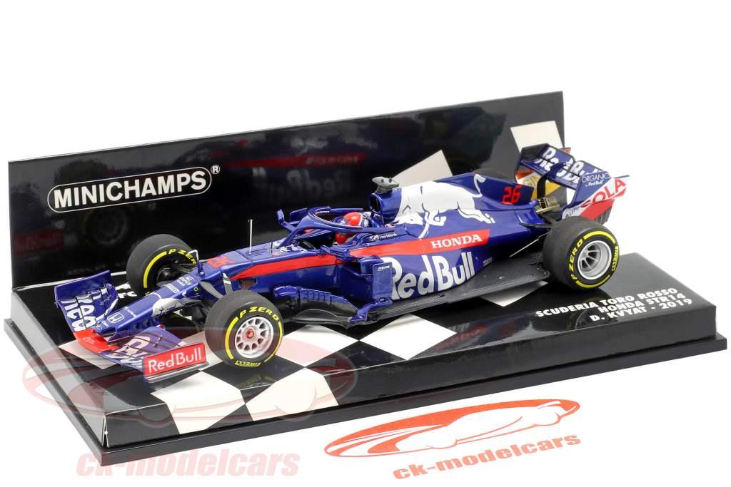 Daniil Kvyat Scuderia Toro Rosso STR14 #26 formula 1 2019 1:43 Minichamps