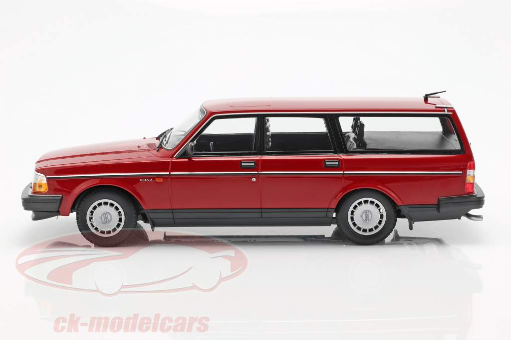 Volvo 240 GL Break année de construction 1986 rouge 1:18 Minichamps