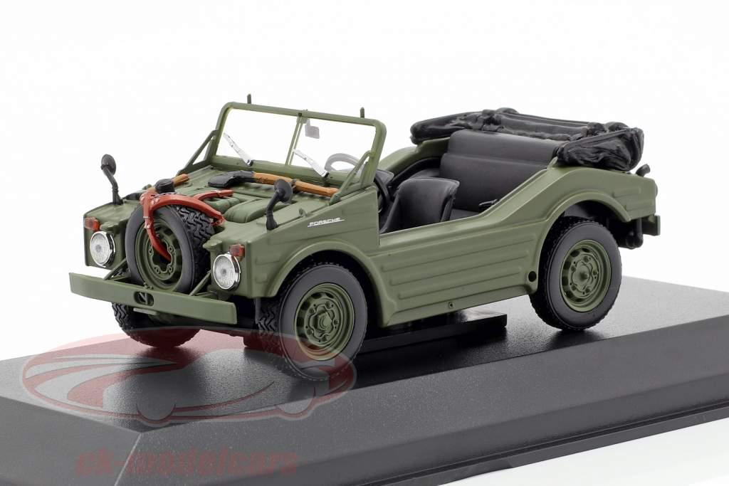 Porsche 597 jagt bil Opførselsår 1954 oliven 1:43 Minichamps