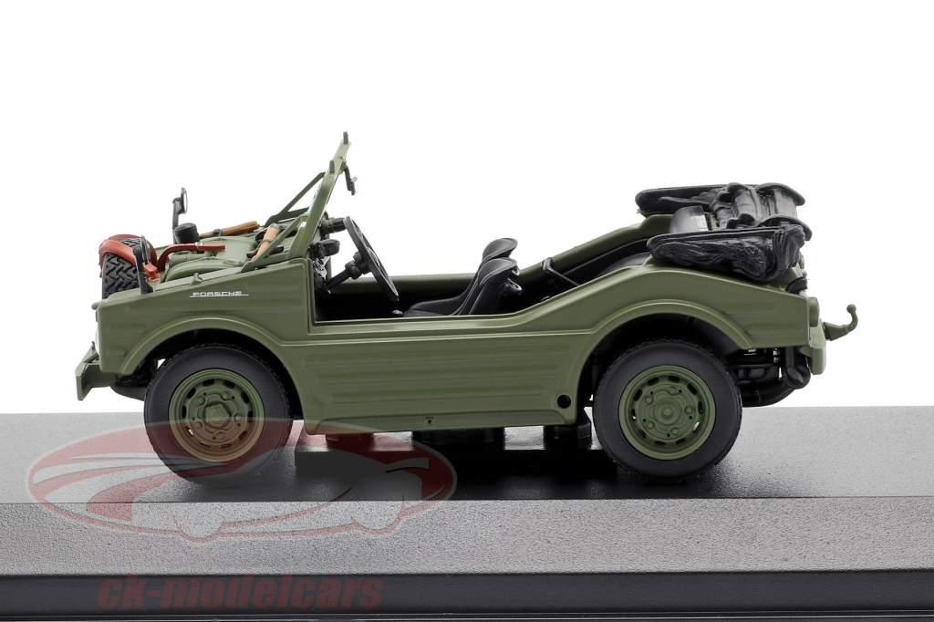 Porsche 597 caça carro ano de construção 1954 oliva 1:43 Minichamps