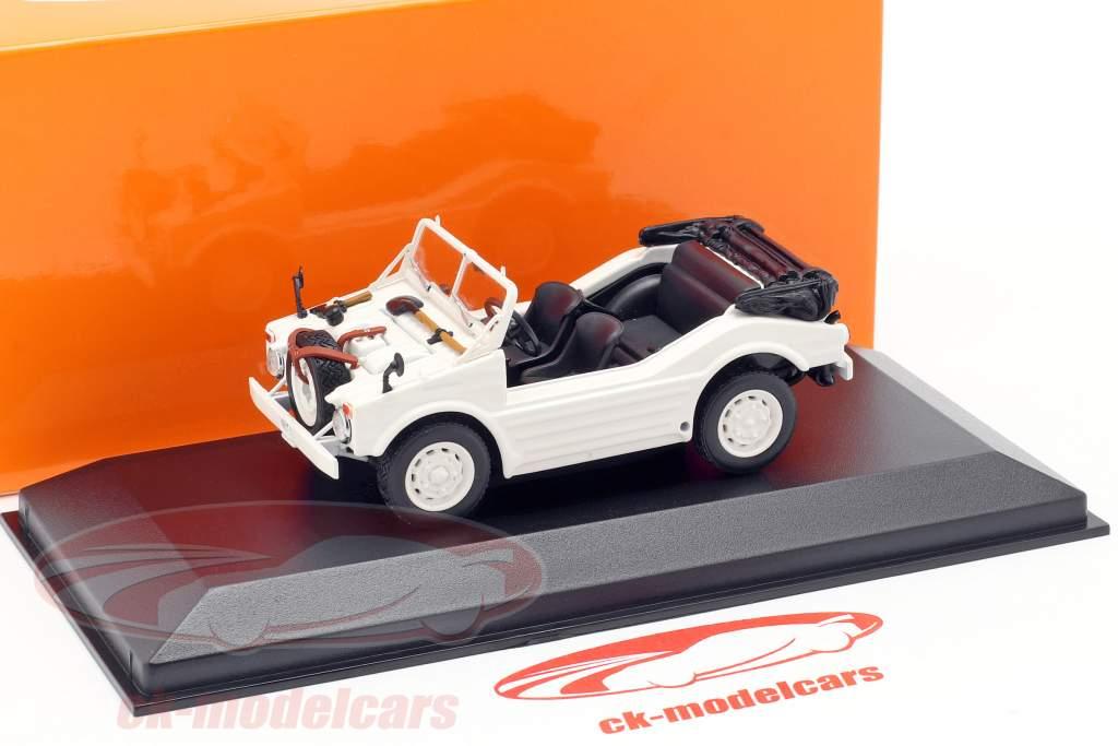Porsche 597 caza coche año de construcción 1954 blanco 1:43 Minichamps