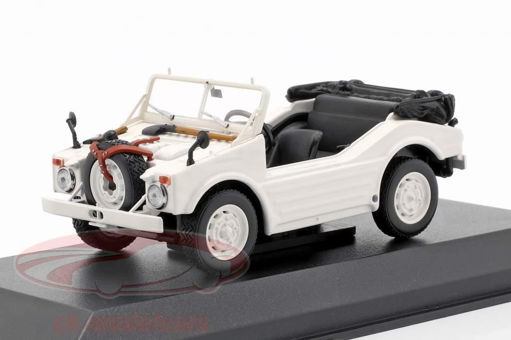 Porsche 597 caça carro ano de construção 1954 branco 1:43 Minichamps