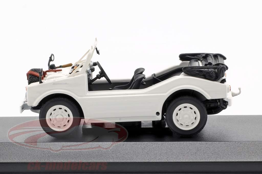 Porsche 597 chasse voiture année de construction 1954 blanc 1:43 Minichamps
