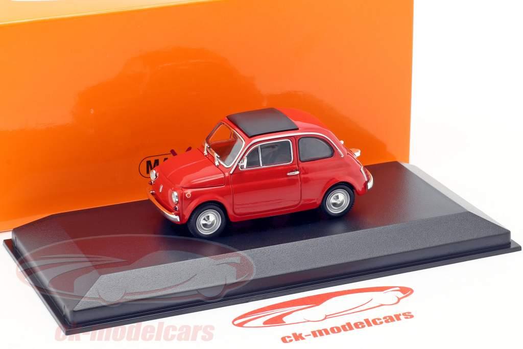 Fiat 500 L Bouwjaar 1965 rood 1:43 Minichamps