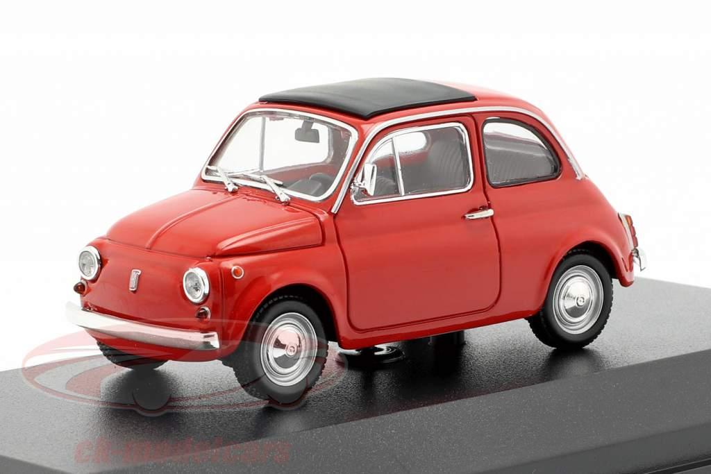 Fiat 500 L Opførselsår 1965 rød 1:43 Minichamps