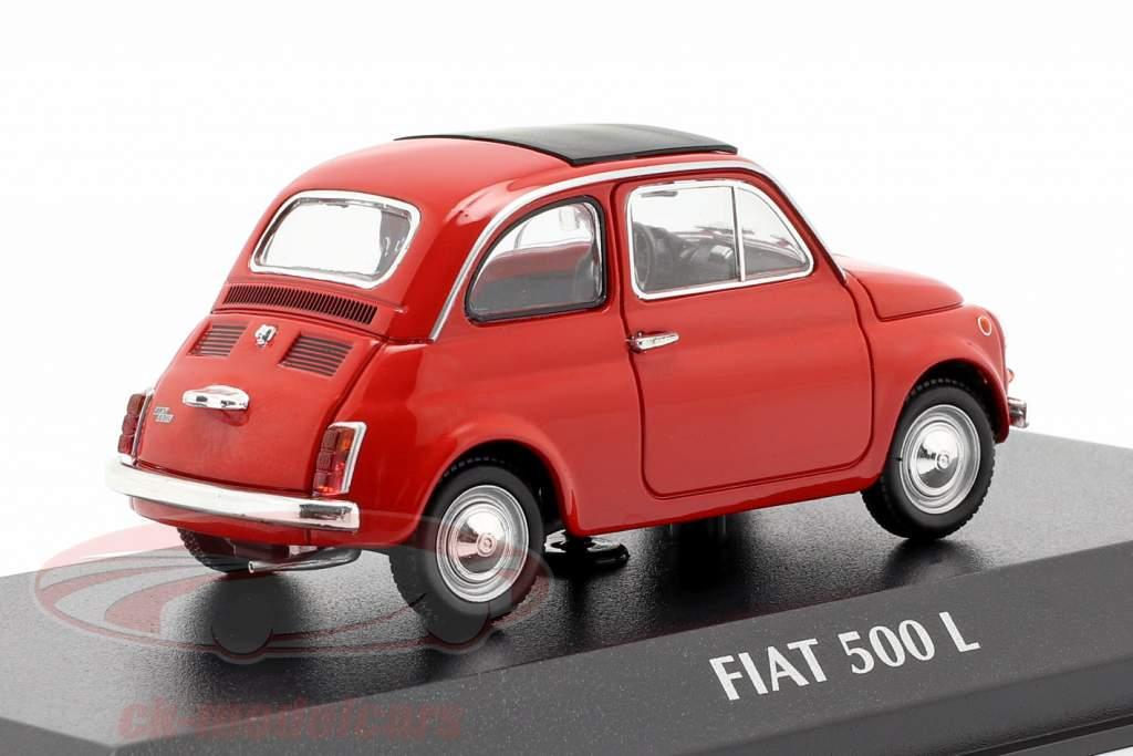 Fiat 500 L año de construcción 1965 rojo 1:43 Minichamps