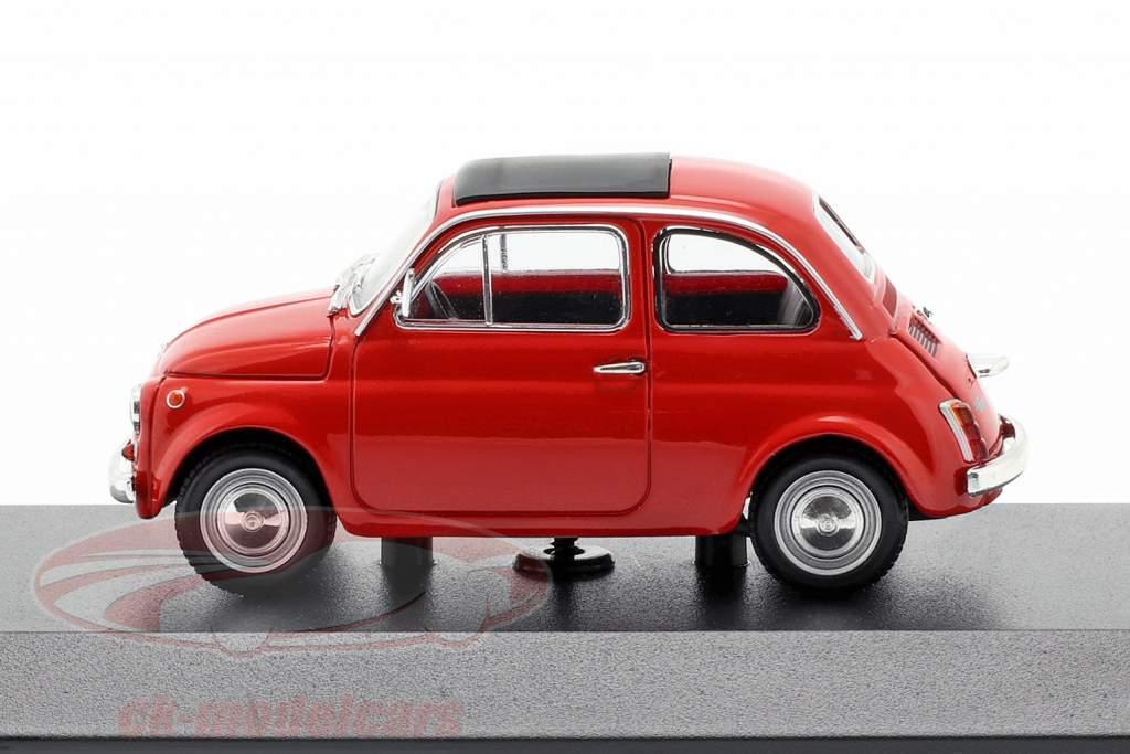Fiat 500 L année de construction 1965 rouge 1:43 Minichamps