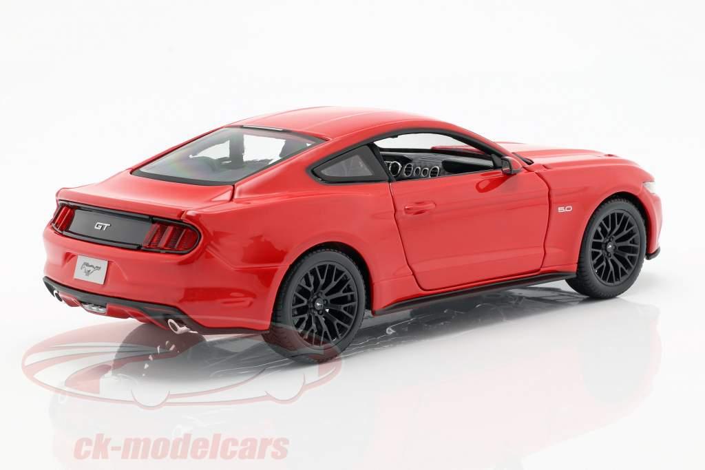 Ford Mustang Baujahr 2015 rot 1:18 Maisto