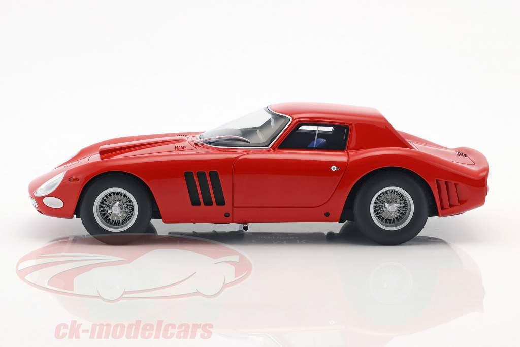 Ferrari 250 GTO Plain Body Version 1964 vermelho 1:18 CMR