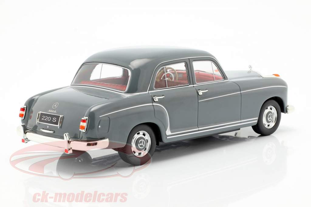 Mercedes-Benz 220 S limousine (W180II) year 1956 Gray 1:18 KK-Scale