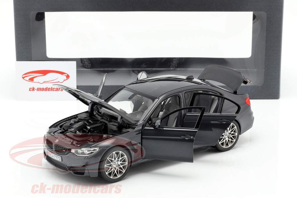 Norev 1 18 Bmw M3 F80 Competition Year 2016 Mineral Gray 80432411554 Model Car 80432411554 80432411554