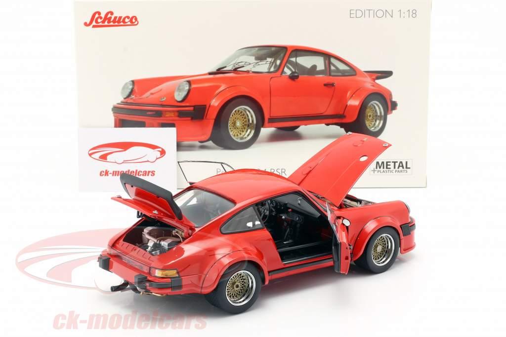 Porsche 934 año de construcción 1976 guardias rojo 1:18 Schuco