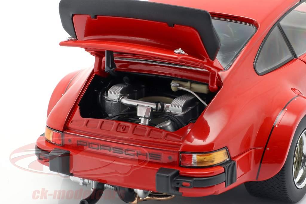 Porsche 934 Bouwjaar 1976 bewakers rood 1:18 Schuco