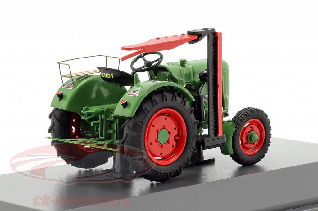 Fendt F20G Dieselross tracteur avec Barre de coupe vert 1:43 Schuco