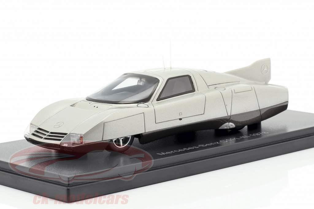 Mercedes-Benz C111-III Concept Car 1978 silver 1:43 Neo