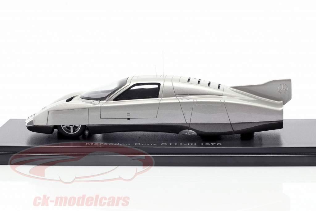 Mercedes-Benz C111-III Concept Car 1978 prata 1:43 Neo