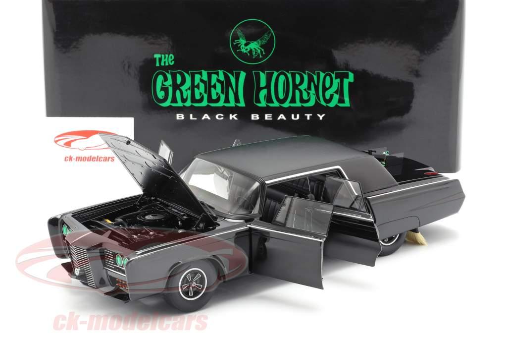 Chrysler Imperial Negro Belleza Green Hornet 1966-1967 negro 1:18 AUTOart