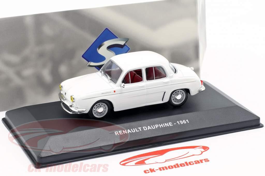 Renault Dauphine Bouwjaar 1961 wit 1:43 Solido