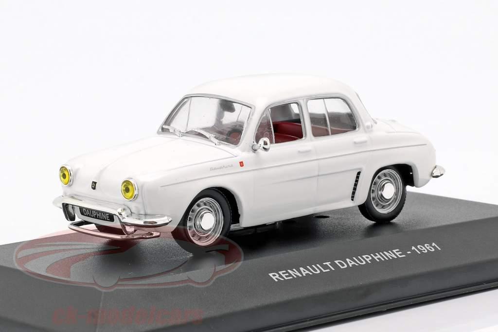 Renault Dauphine anno di costruzione 1961 bianco 1:43 Solido