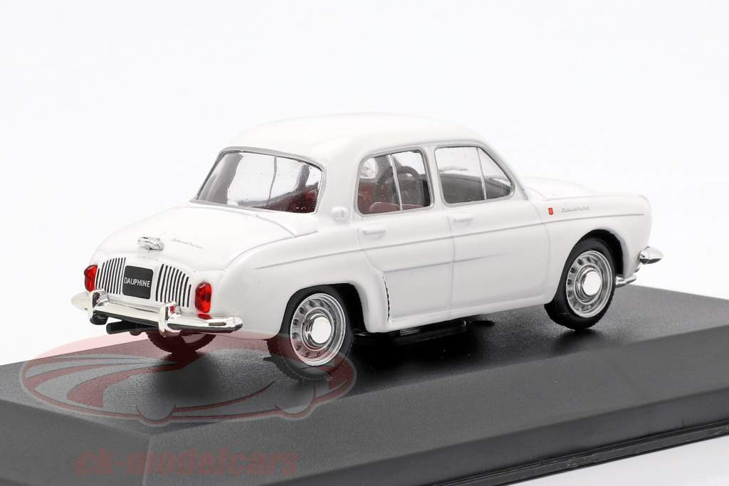 Renault Dauphine year 1961 white 1:43 Solido