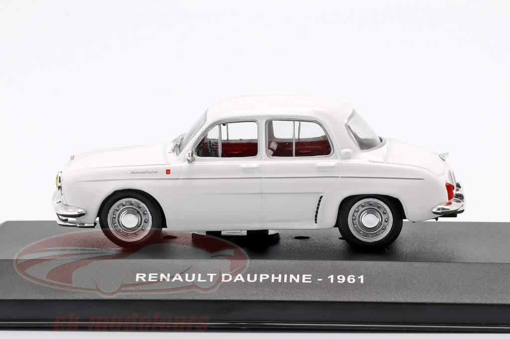 Renault Dauphine année de construction 1961 blanc 1:43 Solido