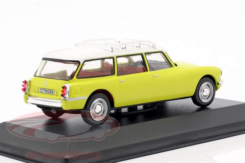 Citroen DS19 Break Baujahr 1960 gelb / weiß 1:43 Solido