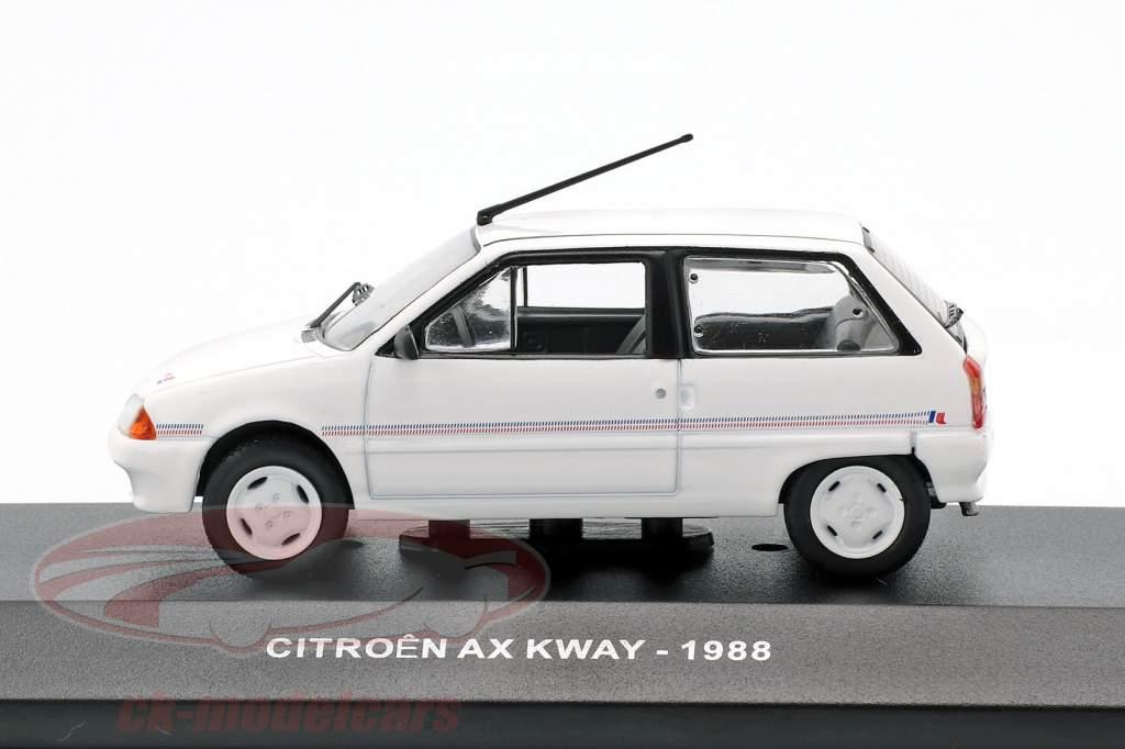 Citroen AX Kway ano de construção 1988 branco 1:43 Solido