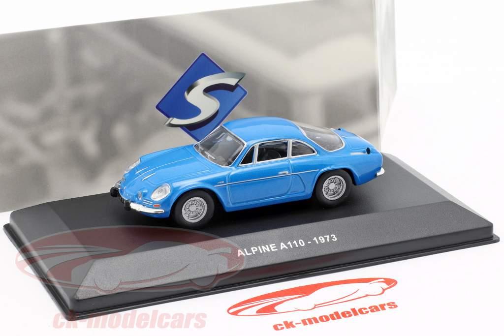 Alpine A110 Berlinette año de construcción 1973 azul 1:43 Solido