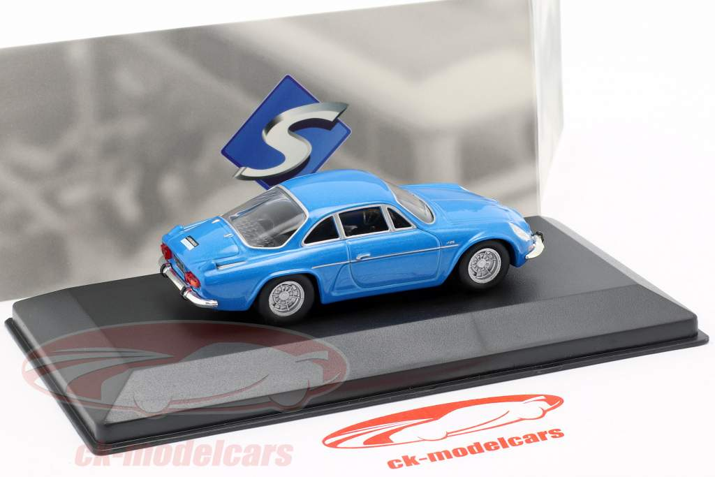 Alpine A110 Berlinette Opførselsår 1973 blå 1:43 Solido