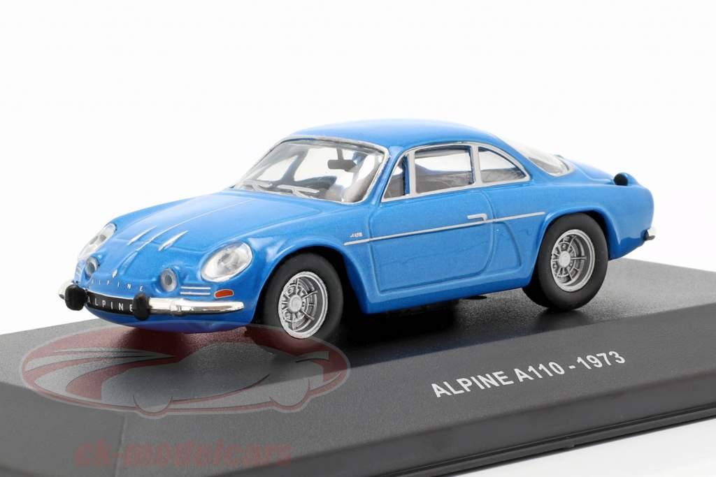 Alpine A110 Berlinette anno di costruzione 1973 blu 1:43 Solido