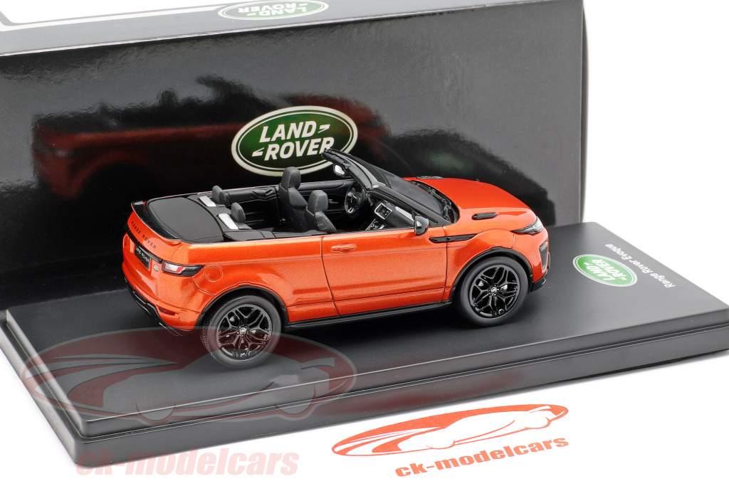 Land Rover Range Rover Evoque コンバーチブル phoenix オレンジ 1:43 TrueScale