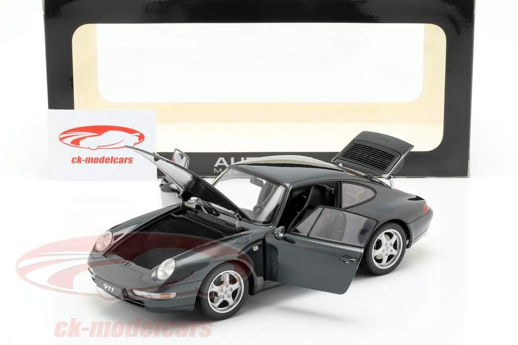 Porsche 911 (993) Carrera anno 1995 verde scuro 1:18 AUTOart