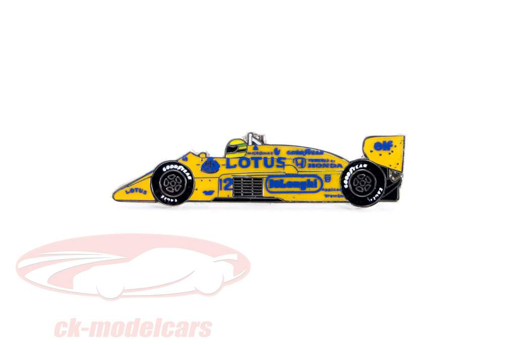 Ayrton Senna goupille 1er victoire Monaco GP formule 1 1987