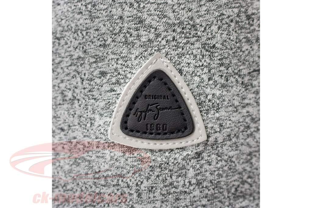 Ayrton Senna T-Shirt Vintage Sao Paulo gray melange