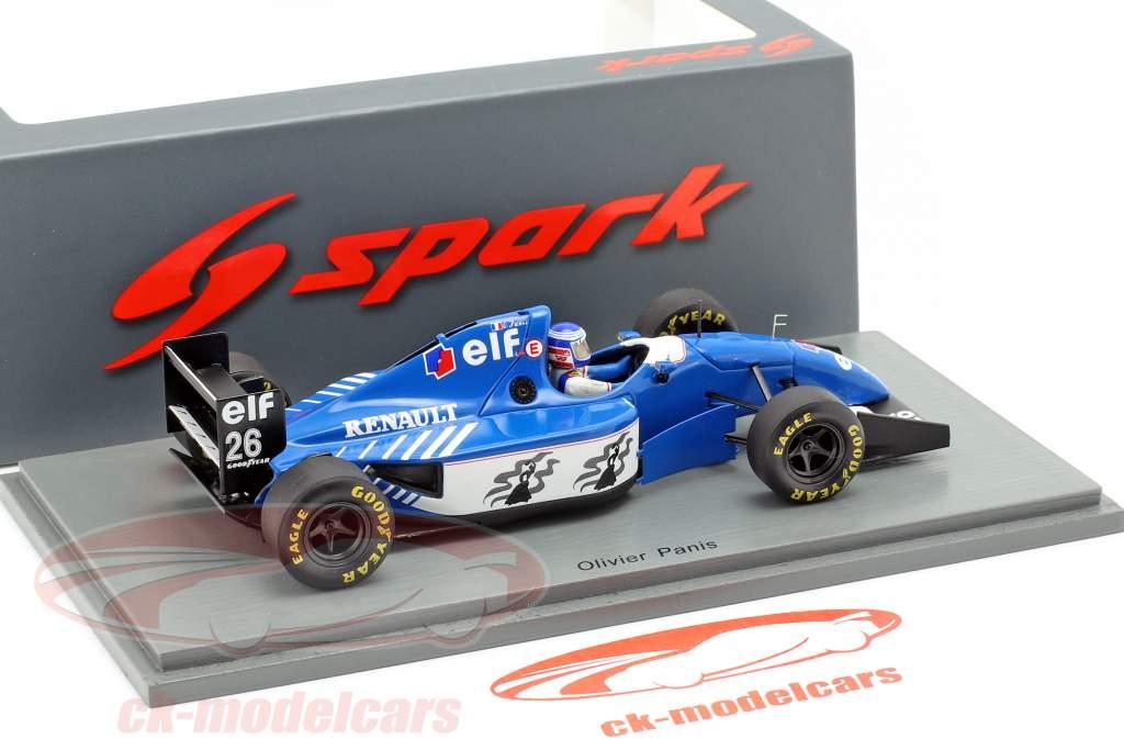 Olivier Panis Ligier JS39B #26 2º alemão GP fórmula 1 1994 1:43 Spark