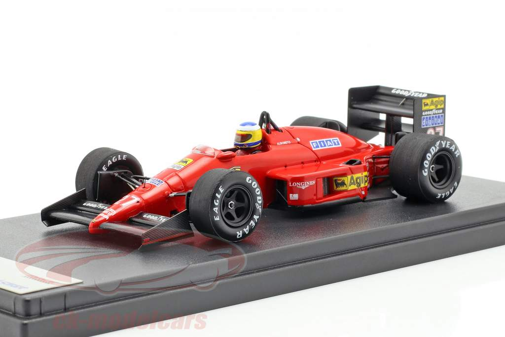 Michele Alboreto Ferrari F1/87 #27 3e Monaco GP formule 1 1987 1:43 LookSmart