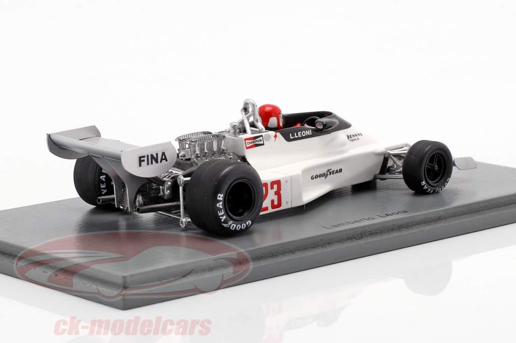 Lamberto Leoni Alferes N177 #23 GP Argentina Fórmula 1 1978 1:43