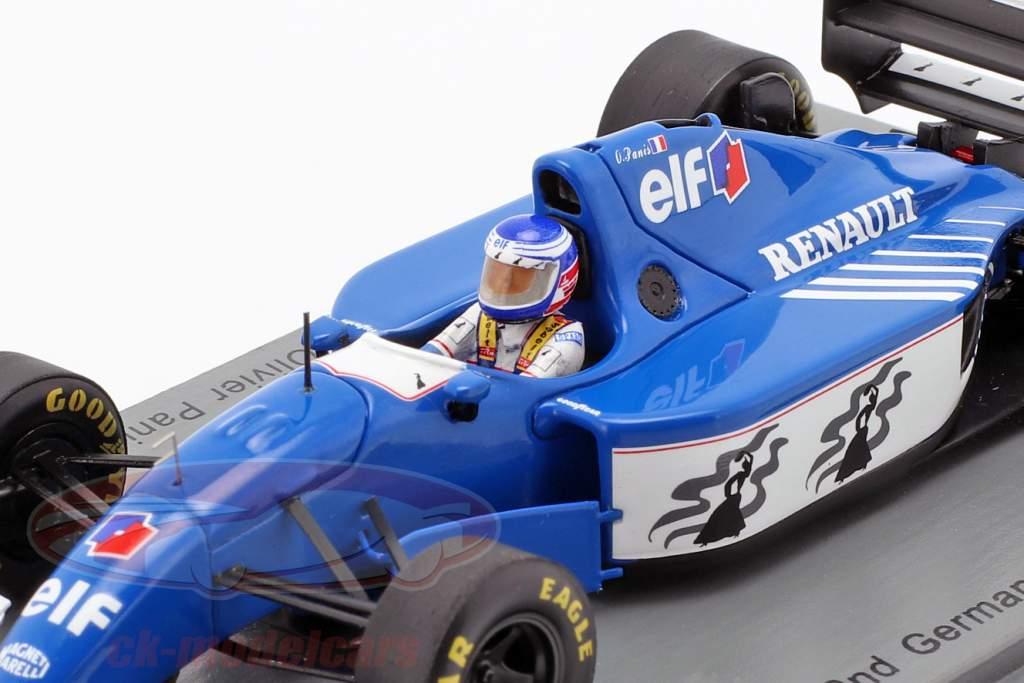Olivier Panis Ligier JS39B #26 2nd German GP formula 1 1994 1:43 Spark