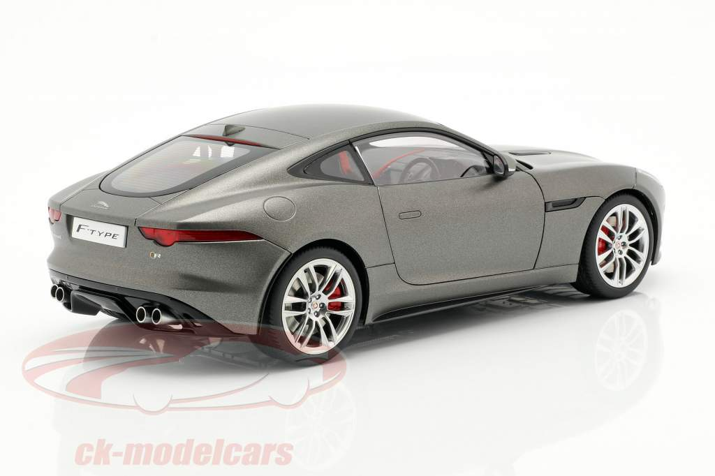 Jaguar F-Type R Coupe Anno 2015 opaco grigio 1:18 AUTOart
