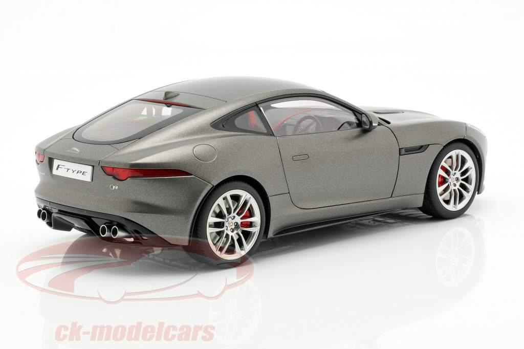 Jaguar F-Type R Coupe Year 2015 matt gray 1:18 AUTOart