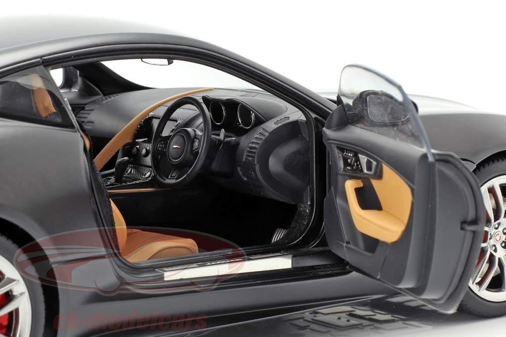 Jaguar F-Type R Coupe År 2015 mat sort 1:18 AUTOart