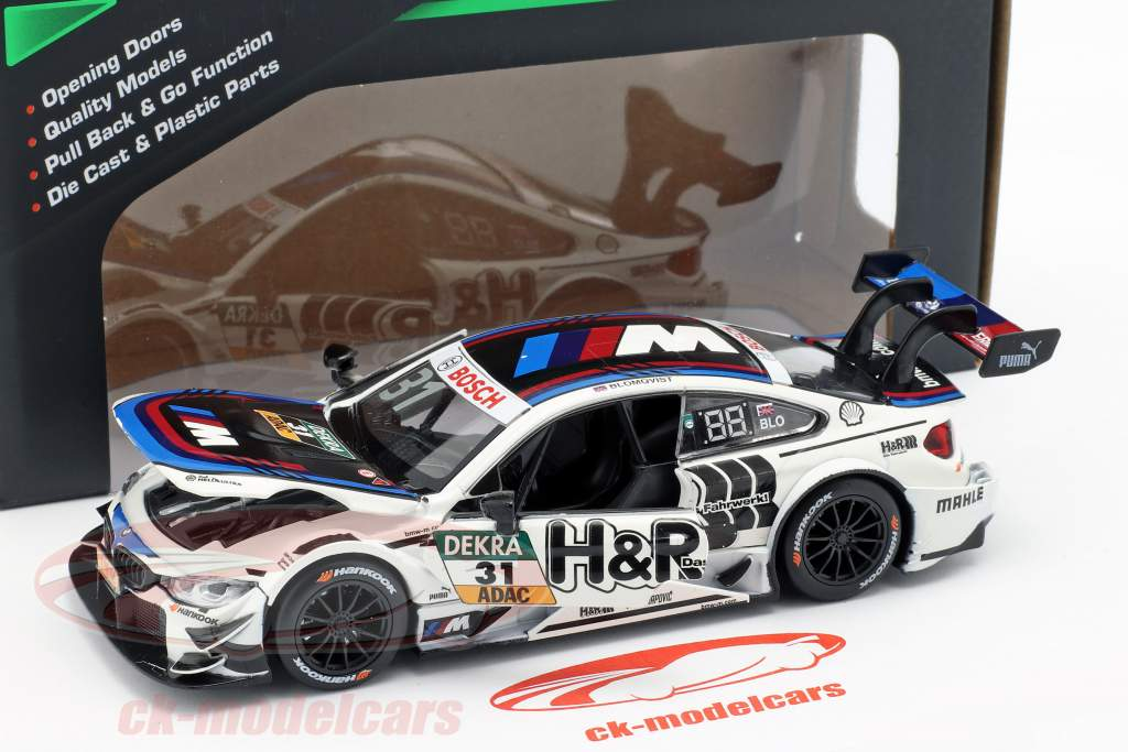 BMW M4 DTM #31 DTM 2017 Tom Blomqvist 1:32 RMZ