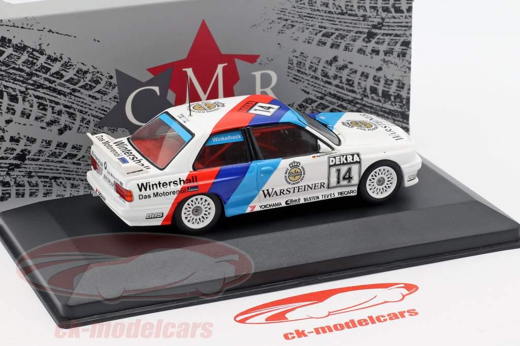 BMW M3 (E30) #14 vincitore Norisring DTM 1992 Joachim Winkelhock 1:43 CMR