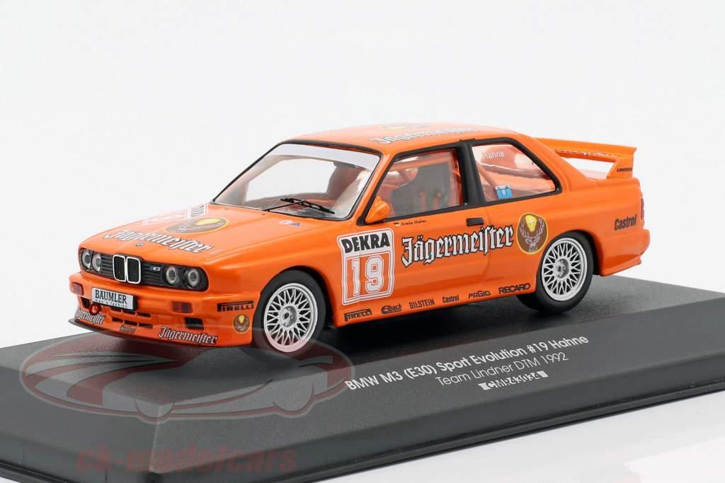 BMW M3 (E30) Sport Evolution #19 DTM 1992 Armin Hahne 1:43 CMR