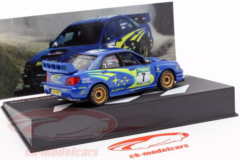 Subaru Impreza WRC #7 3rd Rallye Neuseeland WRC Champion 2003 Solberg, Mills 1:43 Altaya